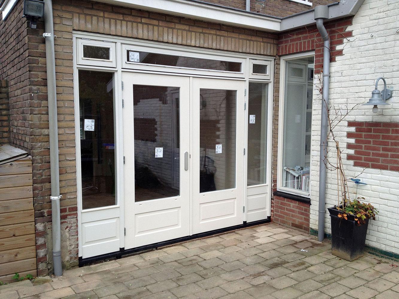 Openslaande Deuren Hout : Ede gelderland tuindeuren opmaat openslaande houten tuindeuren