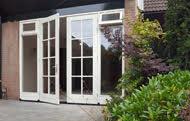 Kozijn met tuindeuren v.a. €1400 incl. glas